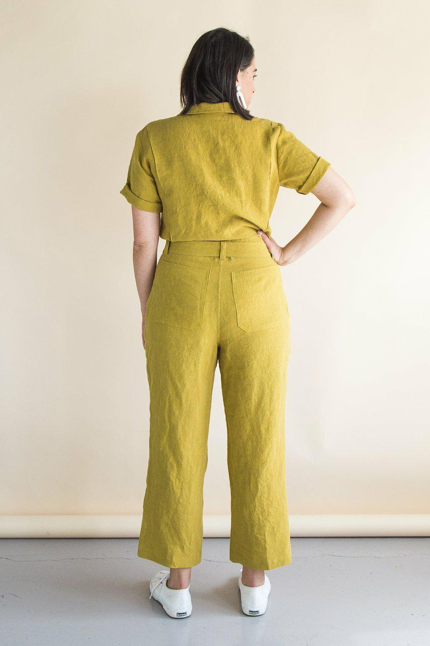 Blanca Flight Suit Pattern By Closet Core-Little Miss Sew n Sew