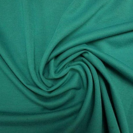 Lady McElroy - Tillburg Teal - Polyester / Viscose / Spandex Ponte Roma Jersey-Little Miss Sew n Sew