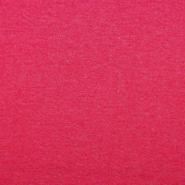 Sweatshirt - Melange Brushed - Red-Little Miss Sew n Sew