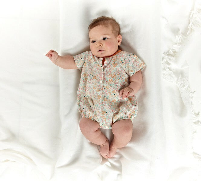 Oliver + S - lullaby layette set sewing pattern-Little Miss Sew n Sew