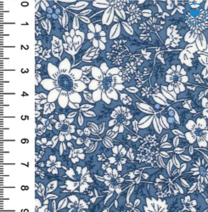 100% Cotton Poplin Print - Delph-Little Miss Sew n Sew