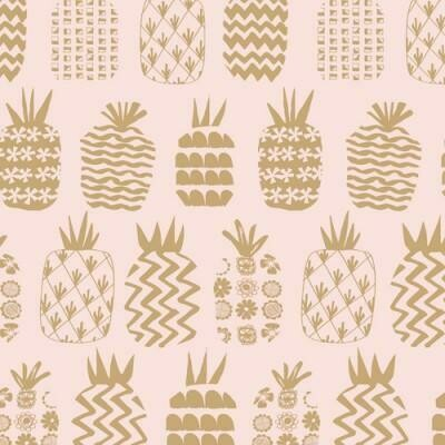 Dashwood - Ocean drive metallic pineapple-Little Miss Sew n Sew