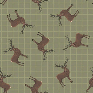 Lewis & Irene - Celtic Coorie - Stag on Country Green-Little Miss Sew n Sew
