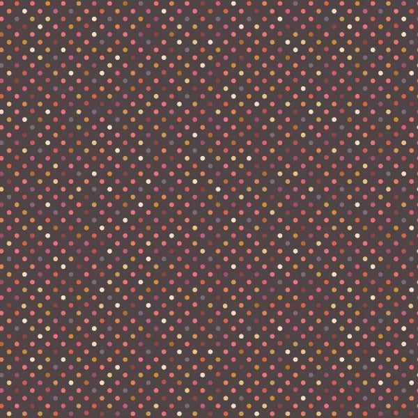 Lewis & Irene - Rainbows - Dark Rainbow Dots-Little Miss Sew n Sew