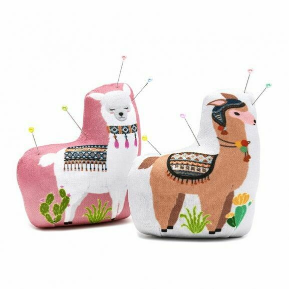 Llama Weighted Pin Cushion-Little Miss Sew n Sew