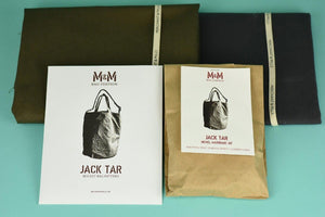All Set to Sew - Merchant & Mills - The Jack Tar Bag - Pattern, Hardwear and fabric bundle-Little Miss Sew n Sew