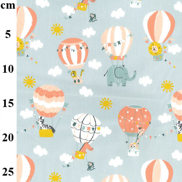 100% Cotton Prints - Air balloons - Extra Wide-Little Miss Sew n Sew