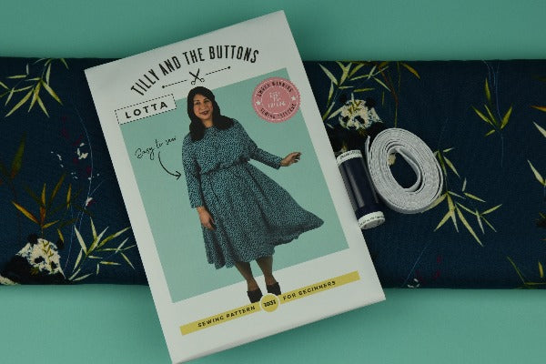 All Set to Sew - Tilly and the Buttons - Lotta sewing pattern and fabric bundle