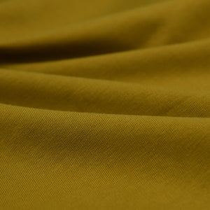French Terry Cotton Jersey - Mustard