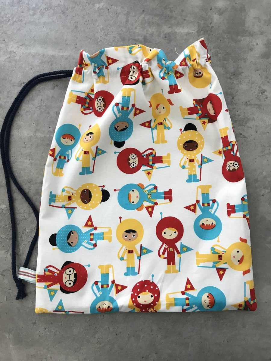 Little Miss Get Stitching - Back to school PE Bag - incl P&P-Little Miss Sew n Sew