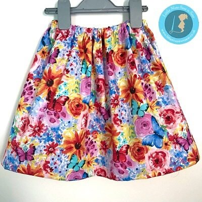 Easy Peasy Skirt - Designer range - incl P&P-Little Miss Sew n Sew