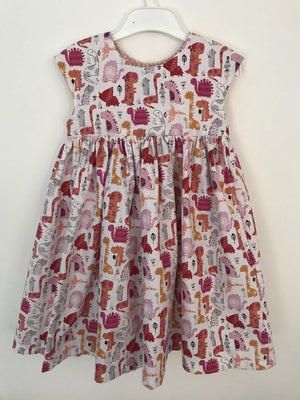Little Miss Get Stitching - The Ivy Dress-Little Miss Sew n Sew