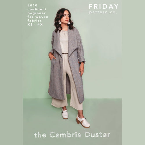 Fraidy Pattern Co The Cambria Duster