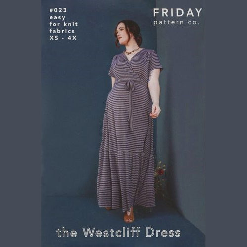 Friday Pattern Co. - WESTCLIFF DRESS-Little Miss Sew n Sew