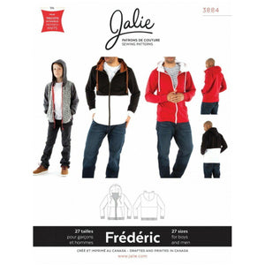 Jalie Sewing Patterns - Frederic Hoodie Pattern-Little Miss Sew n Sew