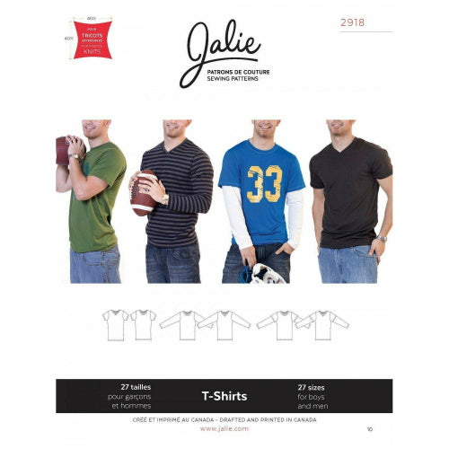 Jalie Sewing Patterns - T-Shirts-Little Miss Sew n Sew