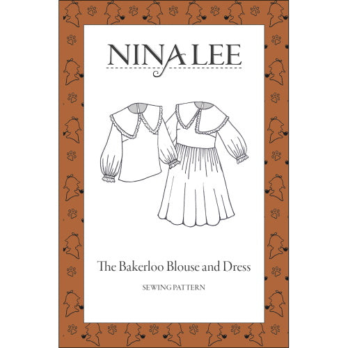 Nina Lee - Carnaby - The Bakerloo Blouse and Dress Sewing Pattern