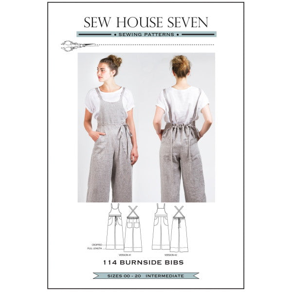 Sew house seven - BURNSIDE BIBS-Little Miss Sew n Sew