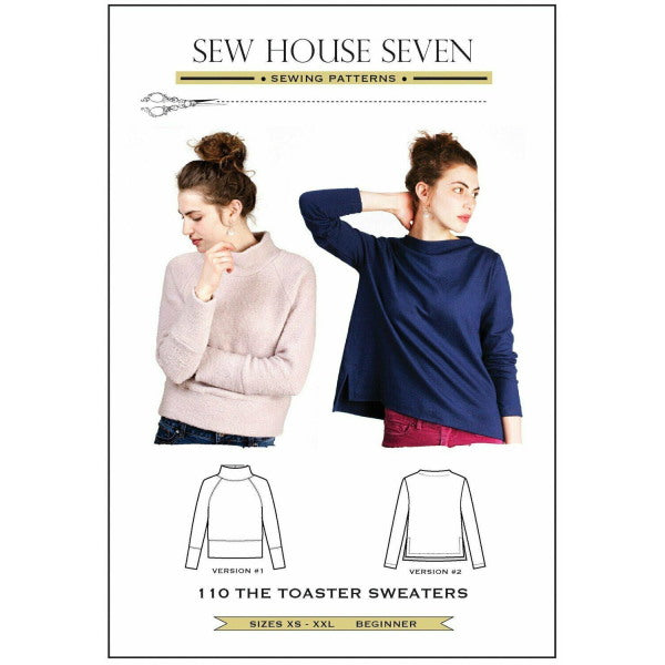 Sew House Seven - The Toaster Sweaters (Paper Pattern)-Little Miss Sew n Sew