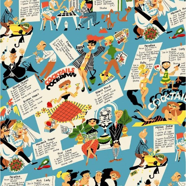 Michael Miller Fabric - Kitschy Cocktail