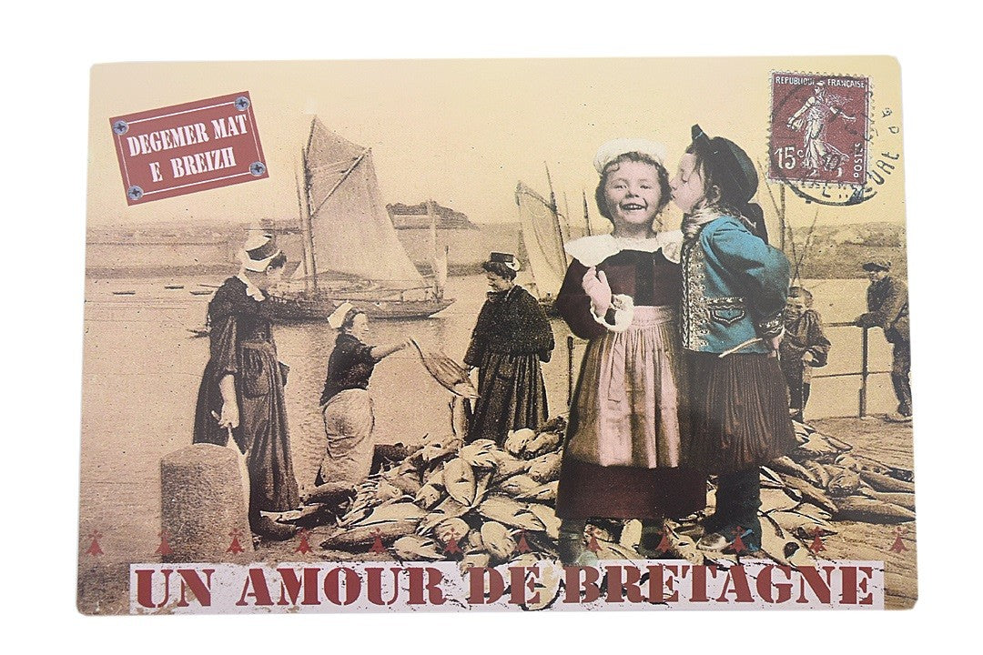 Set de table amour de bretagne