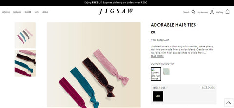 Jigsaw Winter Collection Hair Ties Just Landed!