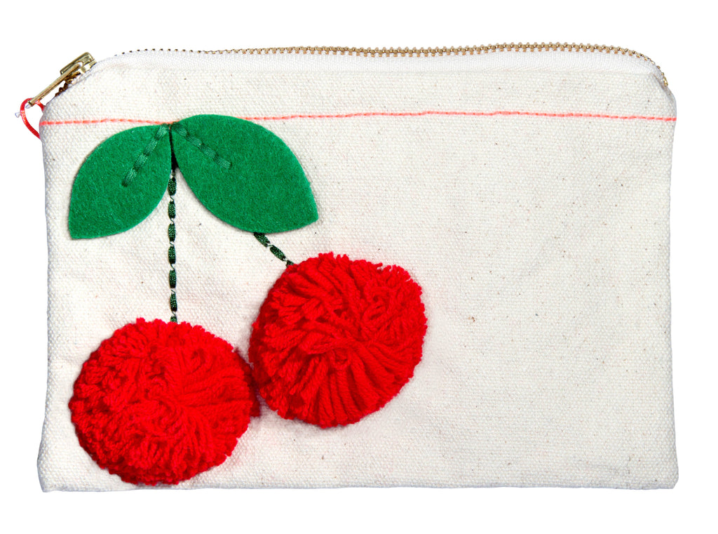 Meri Meri Cherry Pouch - Adorable Hair Ties