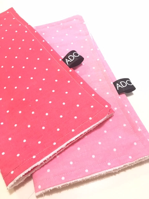 ADORABLE Handmade Burp Cloth (Set of 2) - Adorable Hair Ties