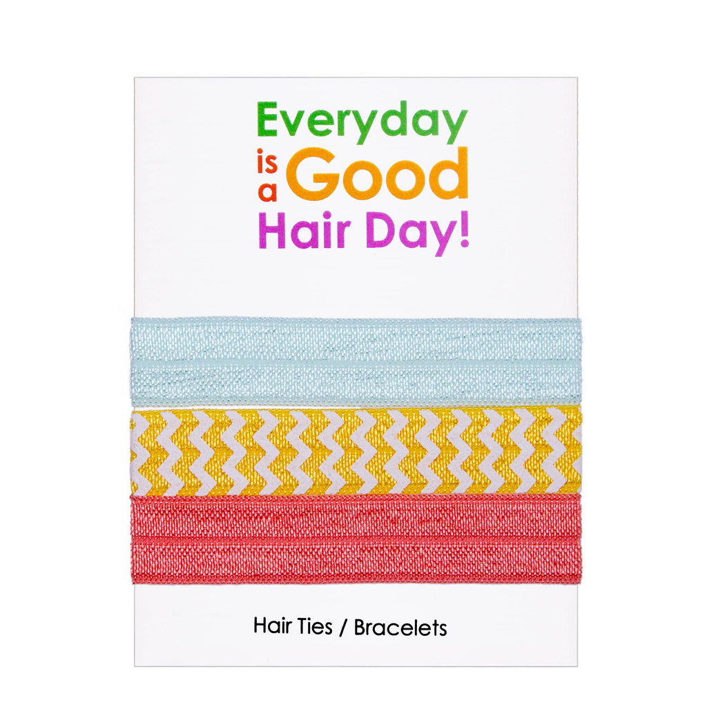 "Adorable Gift Card + Hair Ties ""Everyday Is A Good Hair Day!"" - Adorable Hair Ties"