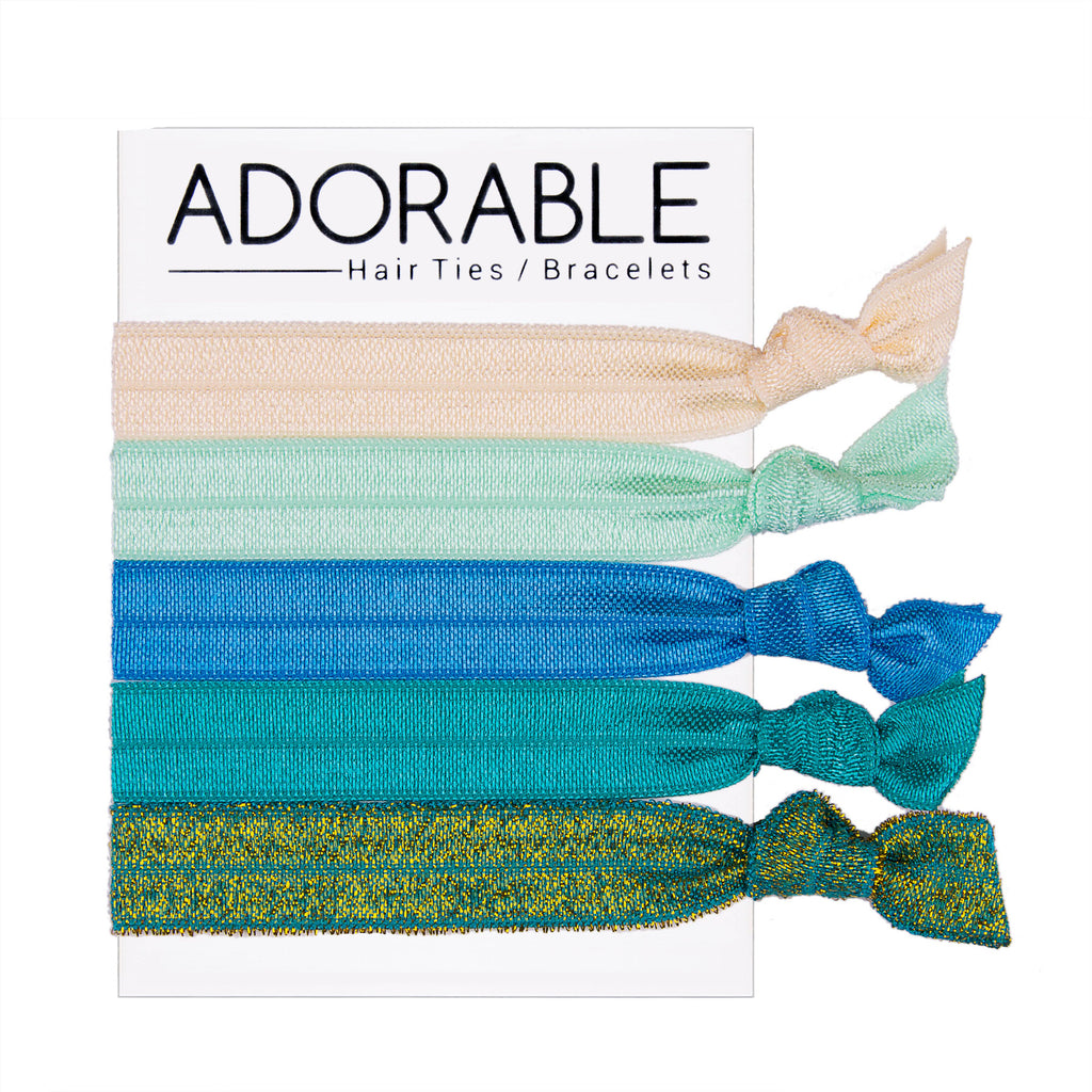 Hair Ties - Emerald - Adorable Hair Ties