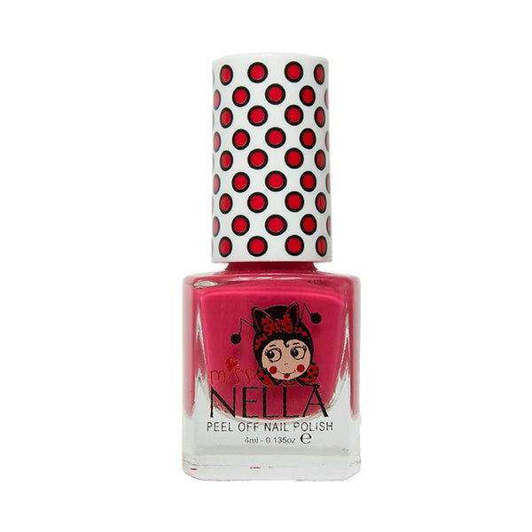 Miss Nella Kids Nail Polish - Cherry Macaroon - Adorable Hair Ties