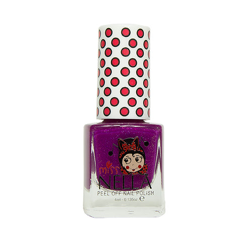 Miss Nella Kids Nail Polish - Jazzberry Jam - Adorable Hair Ties