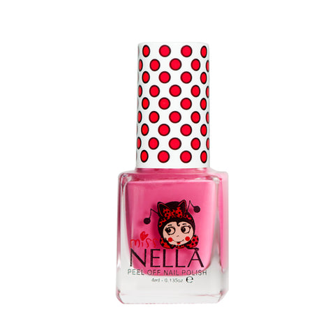 Miss Nella Kids Nail Polish - Pink A Boo - Adorable Hair Ties