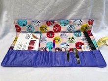 Load image into Gallery viewer, Mickey Mouse Essential Roll-Up Kit for Manicure/Pedicure Tools (or more!)