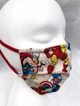 Load image into Gallery viewer, Comfort-First Face Mask: Superhero Collection