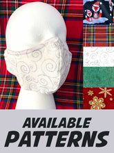 Load image into Gallery viewer, Deluxe 3D Face Mask: Christmas Collection