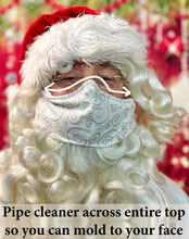 Load image into Gallery viewer, Professional Santa Face Mask