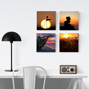 "8x8"" 4 pieces collage set acrylic print"
