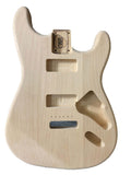 Custom Shop Double P90 Stratocaster Guitar Body