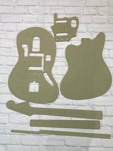 Jaguar Guitar Templates