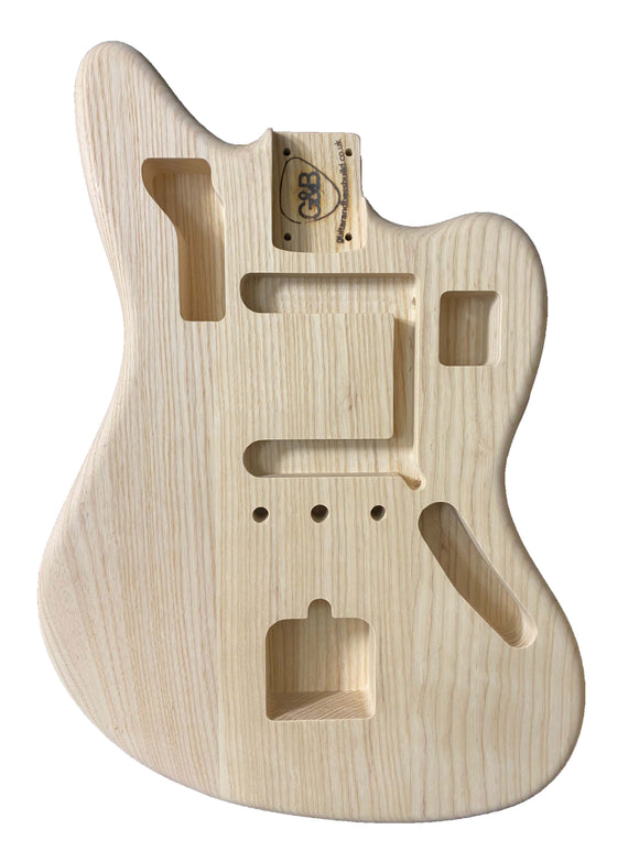 Jaguar Guitar Body - Ash 041220JA4