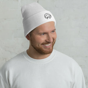 Load image into Gallery viewer, White MycoPals Beanie