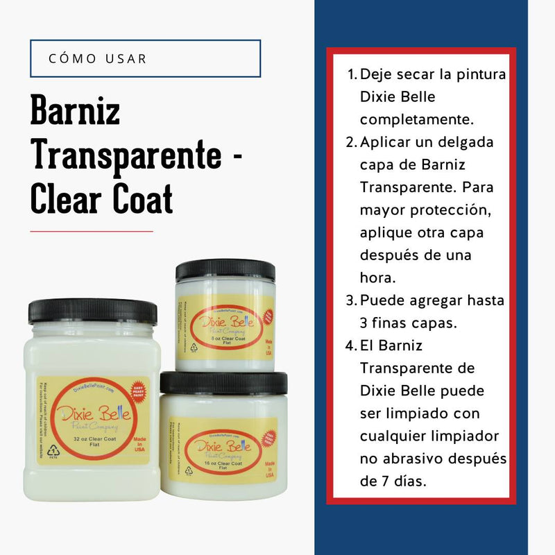Barniz Transparente - Clear Coat Satin
