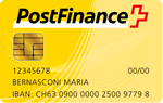 Bezahlmethode Postfinance Card