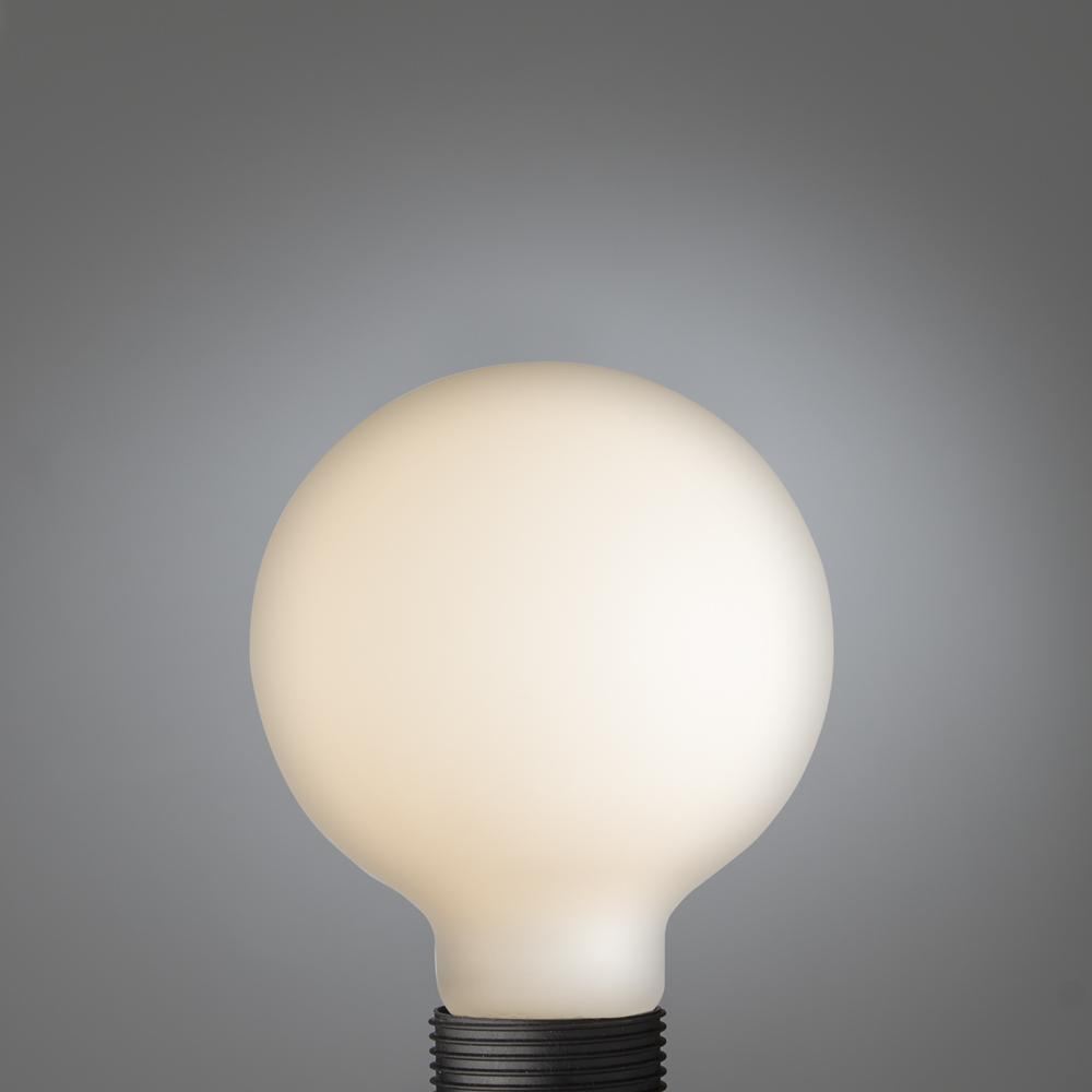 Big LED Filament Double Frosted Globe E27
