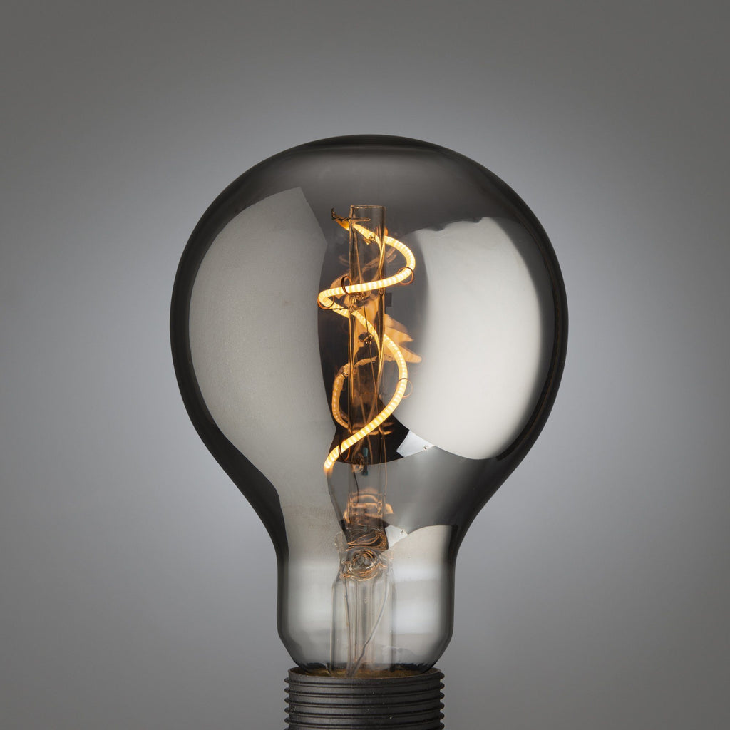 Big Led Single Filament Bulb Smoked E27 - Edisson