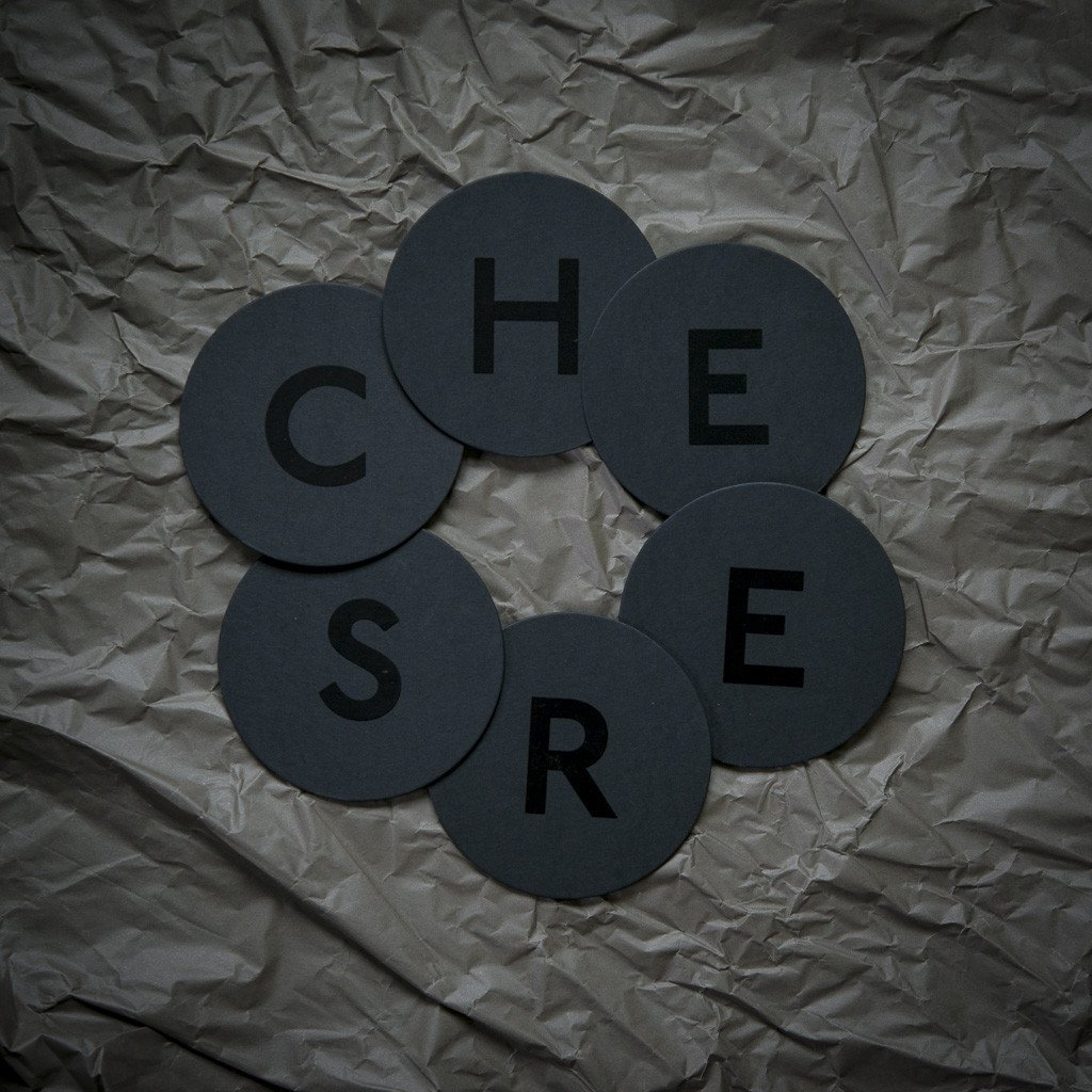 Coaster Set «CHEERS» Lack - Edisson