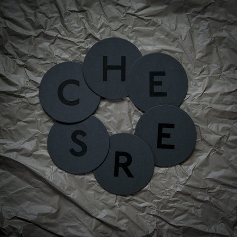 Coaster Set «CHEERS» Lack