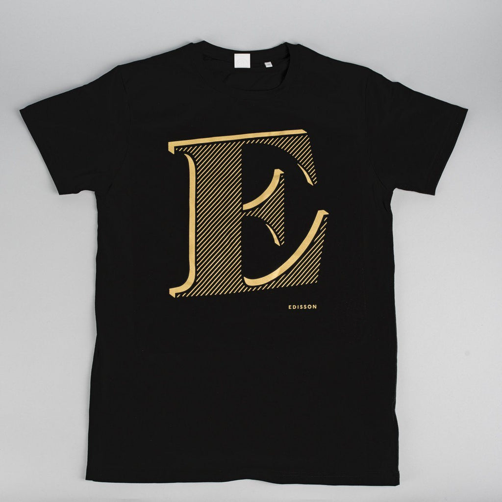 T-Shirt «E» Gold - Edisson