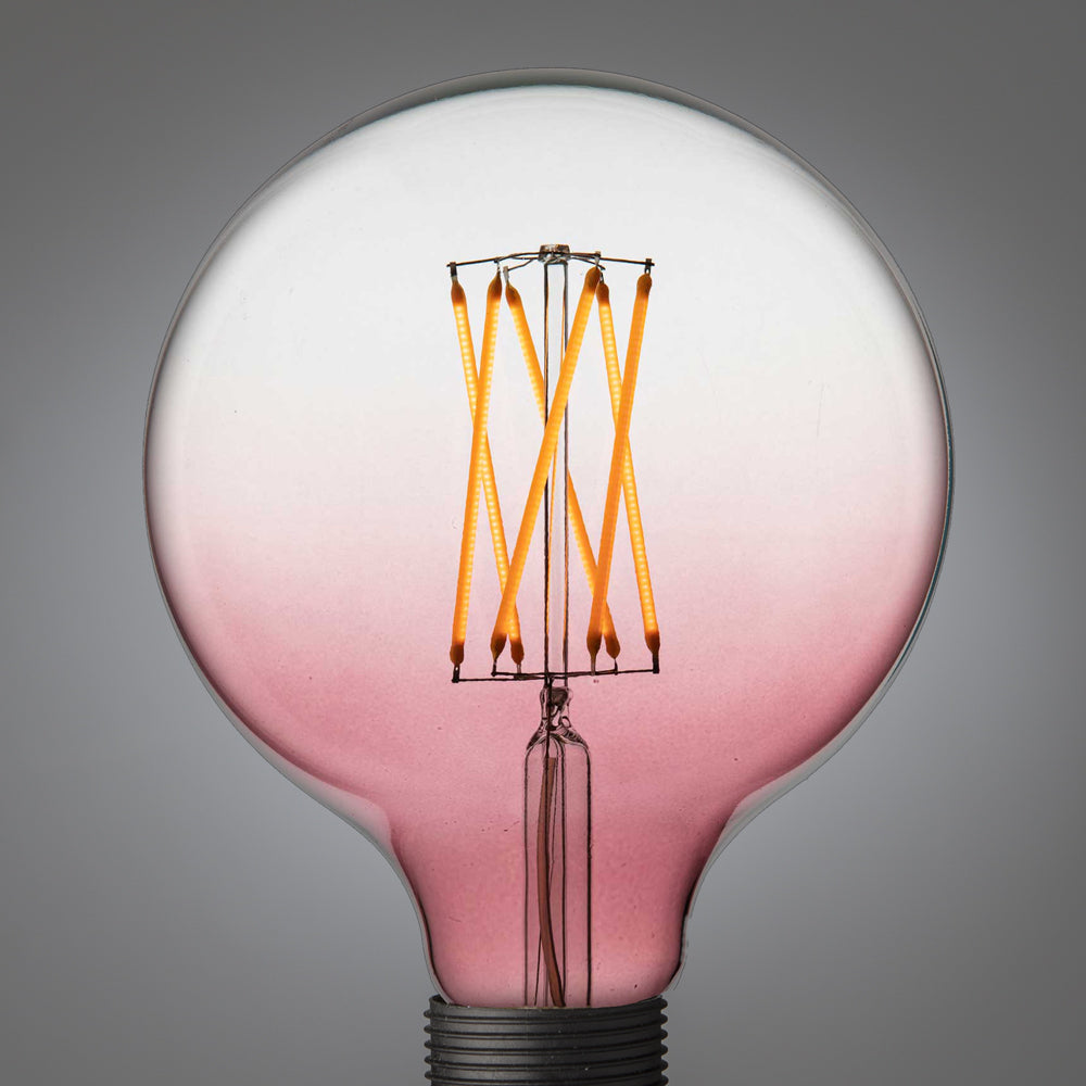 Led Filament Glühbirne | Giant Globe Faded Red E27